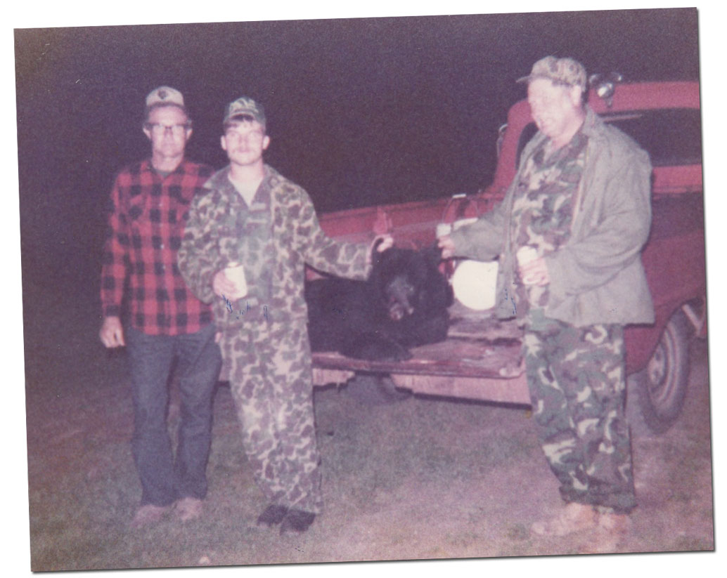 1984 - Hunters with Guide Kevin