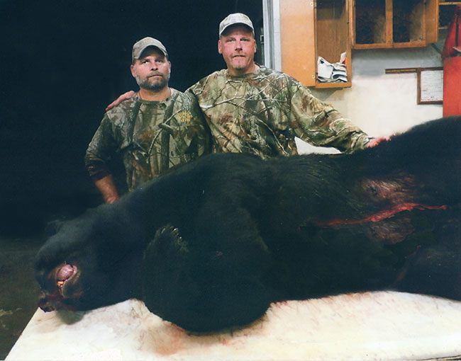 Wisconsin Bear Hunting - Outback Guide Service of Bayfield County